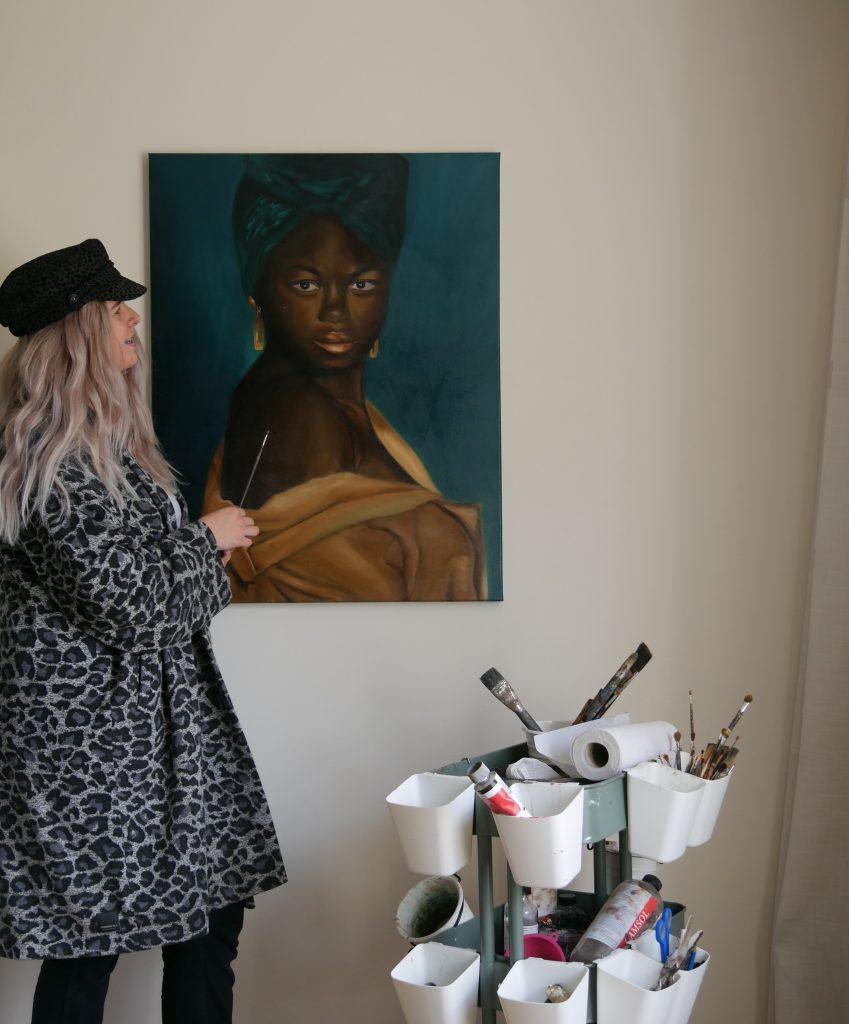 Geluk - ilana met haar kunst